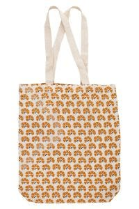 Floral Reusable Shopping Tote