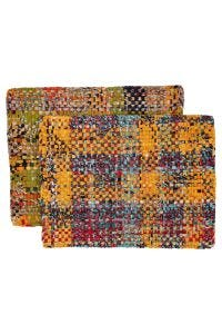Woven Rainbow Placemat Set
