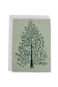Sparkling Tree Holiday Card