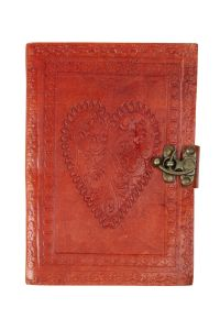 Leather Heart Journal
