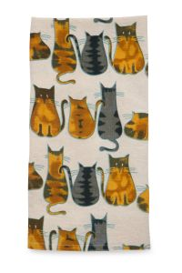 Cats About It Tea Towel