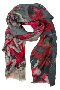 Poppies Wool Scarf