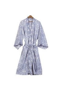 Paisley Cotton Robe