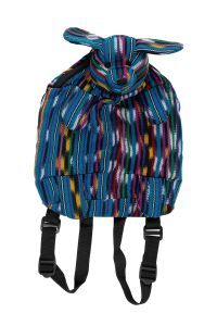 Striped Puppy Backpack